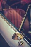 Retro detalj för stiltappningsportbil Royaltyfri Bild