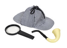 Retro Detective Tools Royalty Free Stock Images