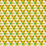 Retro Diamond Pattern Vector Illustration Royalty Free Stock Images