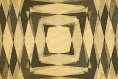 Retro diamond shapes pattern Stock Images
