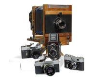 Retro- die Kamera Stockbild