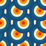 Retro different vector seamless patterns tiling Stock Images