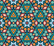 Retro different vector seamless patterns tiling Stock Image