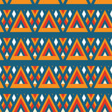 Retro different vector seamless patterns tiling Stock Photo