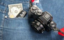 Retro digital camera Stock Photos