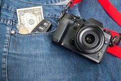 Retro digital camera Stock Photo