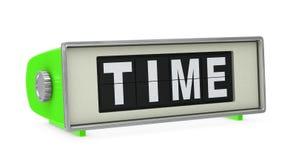 Retro digital clock Stock Photos