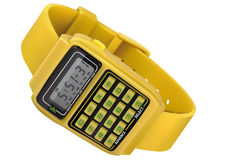 Retro digital Watch Royalty Free Stock Photos