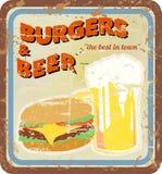Retro diner sign vector illustration