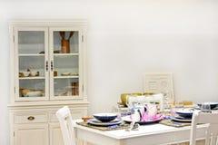 Retro dining room Royalty Free Stock Photo