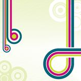 Retro disco background Stock Photo