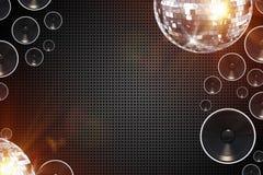 Retro Disco Background Stock Images