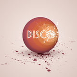 Retro disco ball. Stock Photos