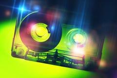 Retro Disco Cassette Royalty Free Stock Photo