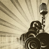 Retro disco and party backgrounds Royalty Free Stock Photos