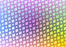 Retro disco squares Stock Photography