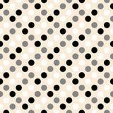 Retro disegno del puntino di Polka Fotografie Stock