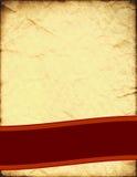 Retro disegno della pagina illustrazione vettoriale