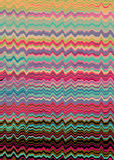 Retro distorted lines background Royalty Free Stock Photo