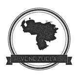 Retro distressed Venezuela, Bolivarian Republic. Royalty Free Stock Photo