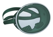 Retro Diving Mask vector illustration