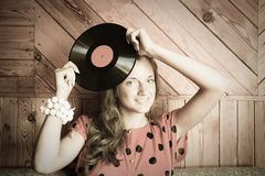 Retro DJ Royalty Free Stock Photos