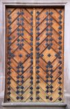 Retro doors. Details of ancient European architecture royalty free stock photography