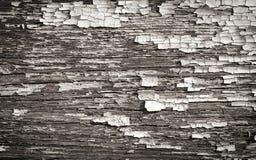 Retro doorstane houten textuur als achtergrond Stock Afbeelding