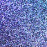 Retro doppio fondo geometrico del poligono del triangolo Fotografie Stock