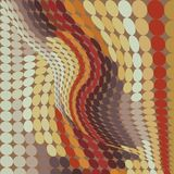 Retro dot vintage background Royalty Free Stock Image