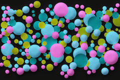 Retro dots Stock Images
