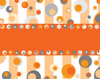 Retro dots Stock Photography