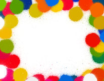 Retro dots Royalty Free Stock Photography