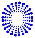 Retro dots Stock Photography