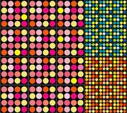 Retro Dots Background royalty free stock image