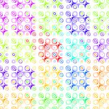 Retro dots pattern Royalty Free Stock Photos