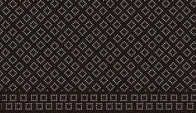 Retro dots pattern Stock Photography