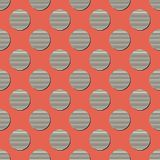 Retro dots pattern, abstract geometric background in 80s, 90s style. Geometrical simple illustration vector illustration