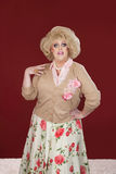 Retro Drag Queen Royalty Free Stock Photography