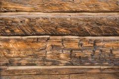 Retro drewniany tło Fotografia Stock