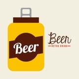 Retro drinks Stock Images