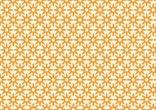 Retro Dry Flower Pattern on Pastel Color Stock Photo