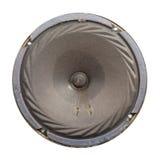 Retro- dynamischer Lautsprecher mit der Pappmembran Stockbild