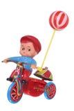 retro dzieciak zabawka s retro meandruje Obrazy Royalty Free