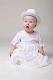 retro dziecko pocieszny kapelusz fotografia royalty free
