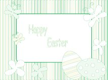 Retro Easter background Stock Photography