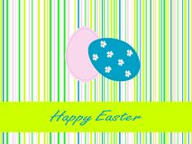 Retro Easter background Royalty Free Stock Image