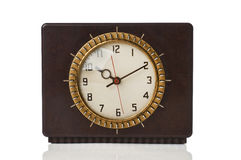 Retro electric clock Royalty Free Stock Image