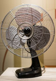Retro Electric Fan. A classic retro electric fan home appliance Royalty Free Stock Photos