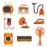 Retro Electric Home Appliance Vector Stock Image